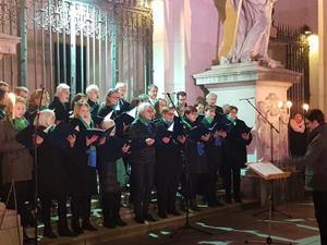 1. Dezember 2019, 15:00 Uhr: Singen vor dem Dom